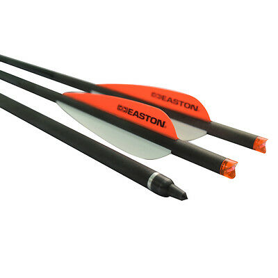 """6pcs 20"""" Easton Vane Crossbow Bolts Carbon Arrows for Archery Hunting Outdoor"""