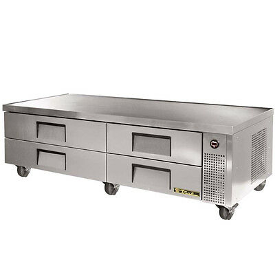 New True TRCB-82 Commercial Chef Base Prep Table Cooler