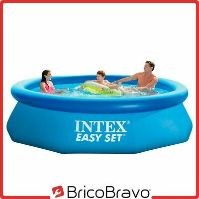Intex Piscina fuoriterra anello gonfiabile rotonda 305x76cm Easy Set 28120