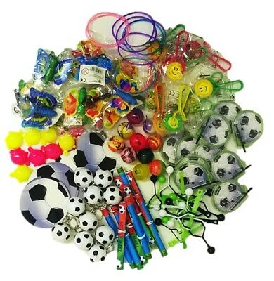100 Job Lot Bundle Girls Boys Kids Party Bag Filler Lucky Dip Reward Toy Prize