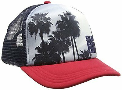 (TG. One Size (Taglia produttore:OS)) Rosso (Red/Navy) Superdry Palm Trucker, Ca