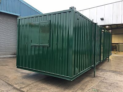 32ft x 10ft Used Refurbished Portable Office with sink