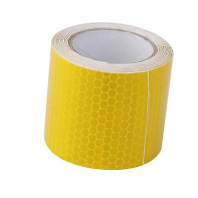 3M Yellow Reflective Safety Warning Conspicuity Tape Film Sticker Roll Strip