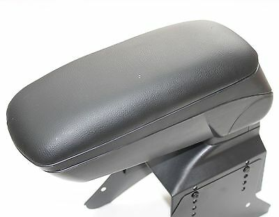 Black Leather Padded Armrest Center Fit For Vauxhall Opel Astra H 2005