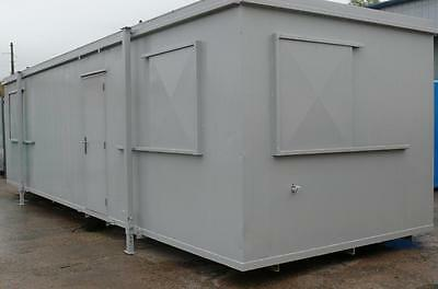 32ft x 10ft Office Kitchen Refurbished Portable Cabin