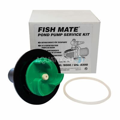 Fish Mate Impeller Service Kit Pond Pump Replacement Rotor Spare Fishmate