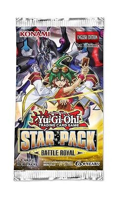 5x Yu-Gi-Oh! Star Pack Battle Royal Booster Pack (5 sealed packs)