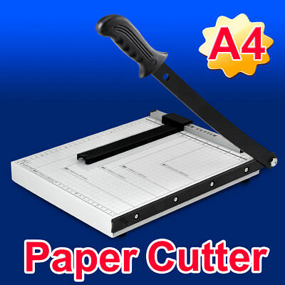 Professional Heavy Duty A4 High Quality Paper Cutter Guillotine Metal Trimmer