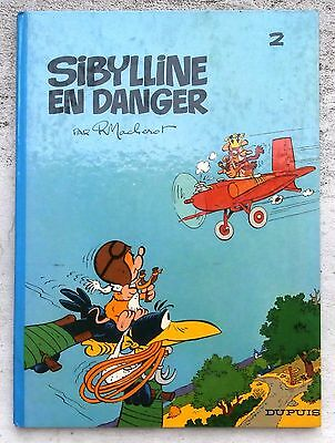 Sibylline en danger  2 EO  1968 BE+ Macherot