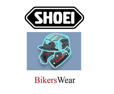 Shoei X Spirit 3 Replacement Centre PAD Set Available in S to XXL