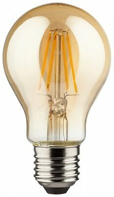LED Birne Retro LOOK Gold - E27 4W 400LM Warmweiss