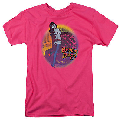 Bettie Page RETRO POP Licensed Adult T-Shirt All Sizes