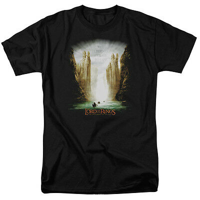 Lord of the Rings KINGS OF OLD Licensed Adult T-Shirt All Sizes
