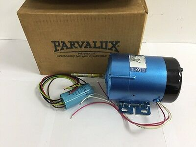 New Parvalux 125w SD12C Electric Motor 200/220v DC SHUNT 3000RPM 329321
