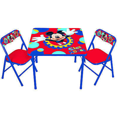Mickey Mouse Clubhouse Capers Erasable Activity Table and Chair Set, Kids Toys