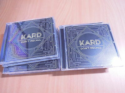K.A.R.D KARD - Don`t Recall (2nd Digital single) with Autographed (Signed) APRIL