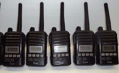 LOT 5 - Icom F50V VHF portable radio TESTED 100% narrowband fire pager police