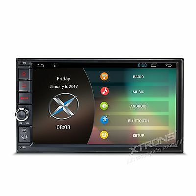 Autoradio 2 Din Xtrons Android 6.0 Wifi 3G Usb Sd Mp3 1080 Mirror Link Divx Quad