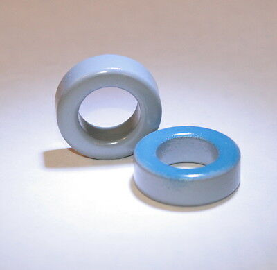 "Toroid Core, Powdered Iron .94"" 24mm, for power magnetics /inductor/coil/ Qty: 8"