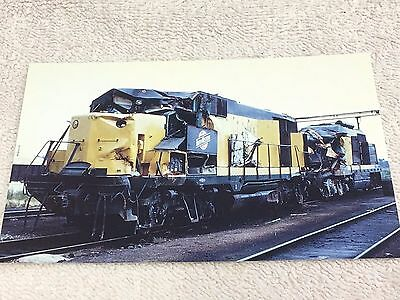 """CHICAGO AND NORTHWESTERN GP35 Road#834 Post Card, 5-1/2"""" x 3-1/2"""""""