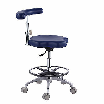 PU Leather Medical Nurse's Chair Doctor's Stool Adjustable Mobile Chair US Stock