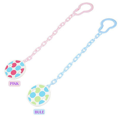Newborn Infant Pacifier Clips Chain Baby Girl Boy Dommy Soother Straps Anti-lost