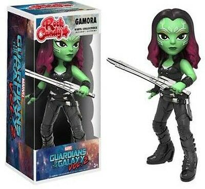 Guardians Of The Galaxy Vol.2 - Gamora - Funko Rock Candy: (2017, Toy NEU)
