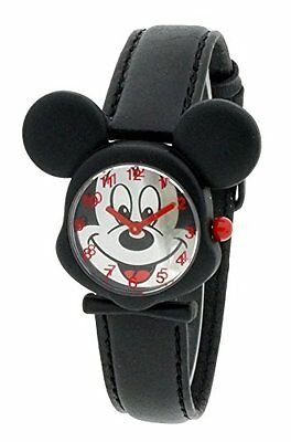 Disney DIS001 Orologio da Polso, Display Analogico, Bambini, Pelle, Multicolour