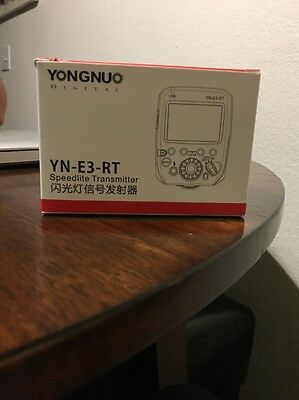 Yongnuo Speedlite Wireless Transmitter YN-E3-RT for Canon Camera as ST-E3-RT