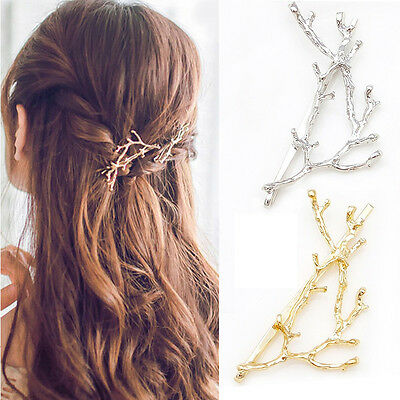 New Branches Hairpins Antlers Hair Clip Hair Accessories Silvery Golden