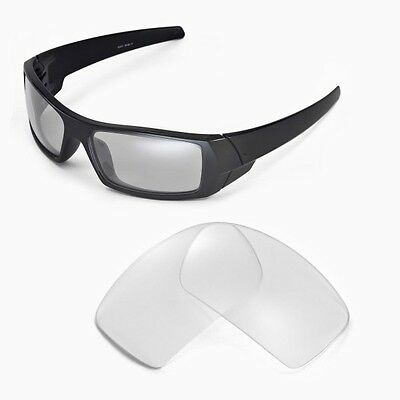 Sure Polarized Crystal Clear Replacement Lenses for Oakley Gascan