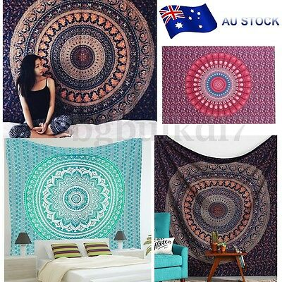 Indian Mandala Tapestry Wall Hanging Tapestries Bedspread Bohemian Home Decor