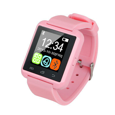 2017 Smart Watch Bluetooth Phone Mate For Android iPhone Samsung Fitness Tracker