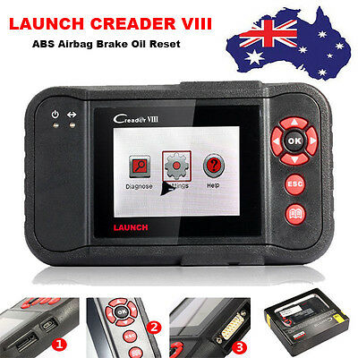 LAUNCH X431 Creader VIII CRP129 ABS SRS Airbag Code Reader Diagnostic Tool AU