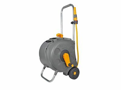 Hozelock 30m Compact Cart Reel with 30m Hose Pipe