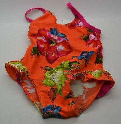Catimini Gorgeous Girls Bathers Swimsuit Size 12 Months - Made In France