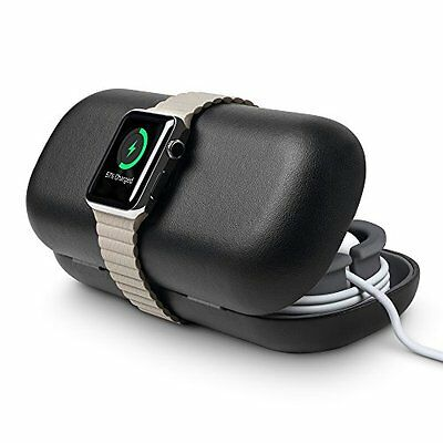 Twelve South TimePorter for Apple Watch, black Apple Watch accessory travel case