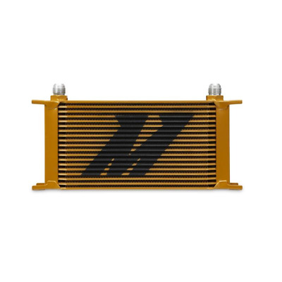 Mishimoto 19-Row Oil Cooler - Gold (MMOC-19G)