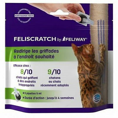 Feliscratch By Feliway, 9 x 5ML Pipettes, Premium Service, Fast Dispatch.