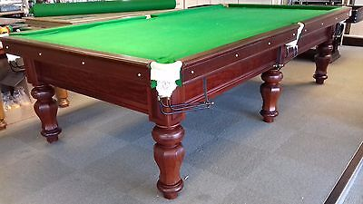 10ft Restored Antique Snooker Table