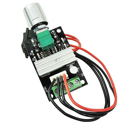 New DC Motor Speed Controller 6-24V DC Load PWM Adjustable Reverse Driver Switch