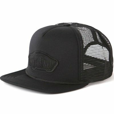 Vans Classic Patch Trucker Hat Black Cappellino New Ss 2017