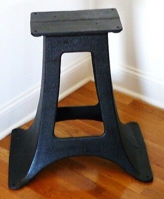 Antique Cast Iron Salvage Industrial Machine Tool Stand Base