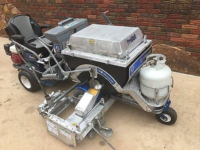 Graco ThermoLazer ProMelt Thermoplastic Paint Pavement Line Striper