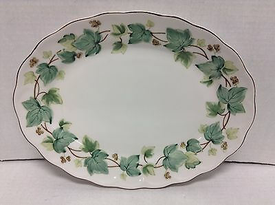 Casual Living Nikko Tableware Oval serving Dinner platter Green Ivy Plate tray