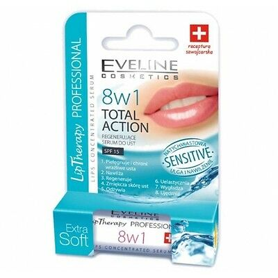 Eveline 8 in 1 Total Action Sensitive Lips Concentrated Serum