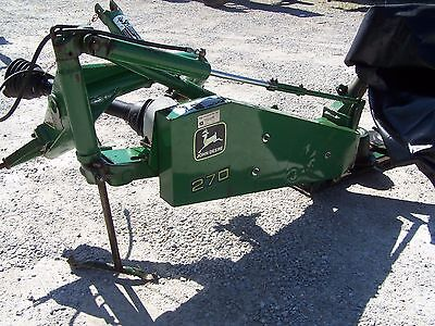 John Deere 270 -- 9 Ft Disc Mower---- Can ship @ $1.85 per mile.