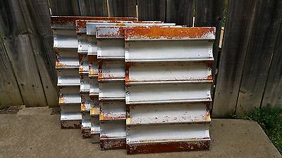 "Lot of (5) Commercial French Bread Baugette Loaf Pans 26"" x 18"""
