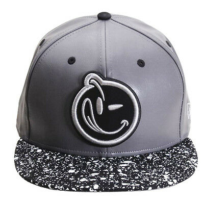 a2707491c6b05 NEW Authentic YUMS New Era Classic Speckled Gray Black White Snapback 521S