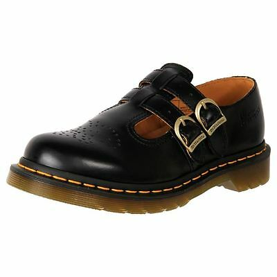 Genuine Dr. Martens Doc Women's Leather Mary Jane Work Shoes 8065 Cheap